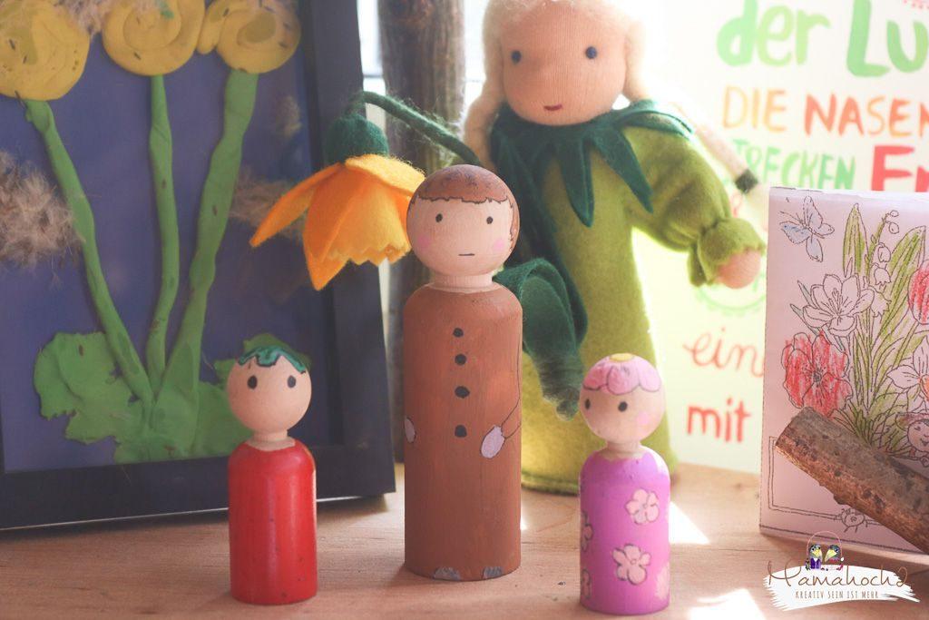 peg dolls selber machen waldorf spielzeug selber machen (10)