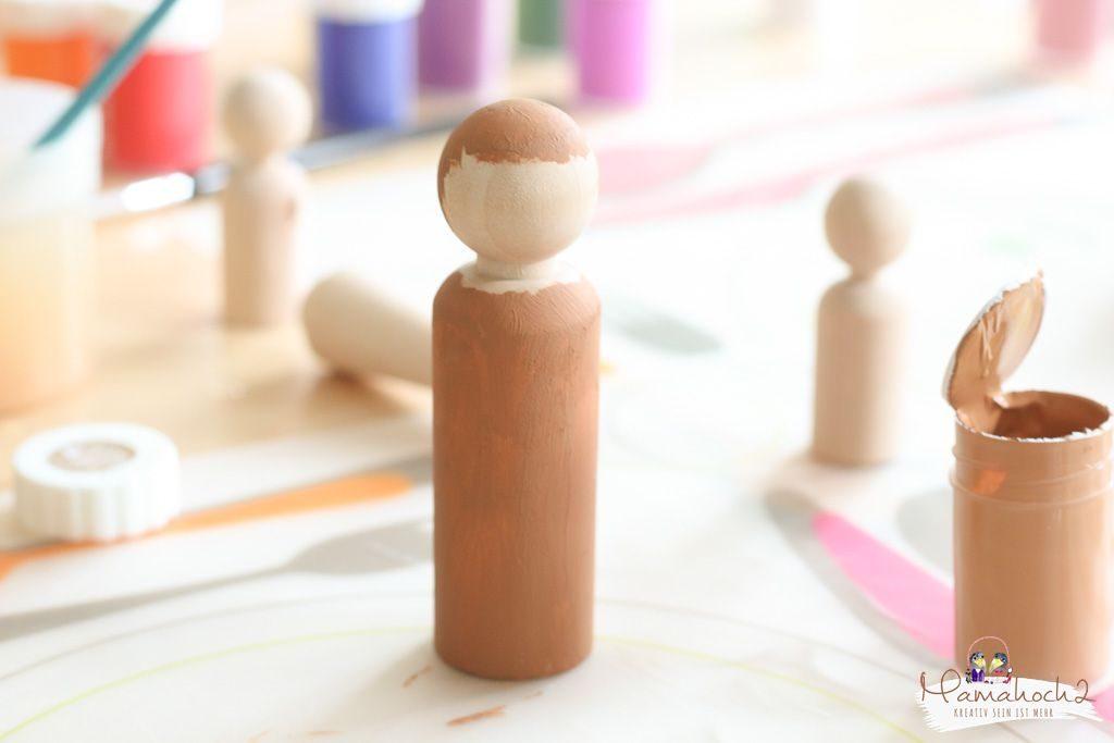 peg dolls selber machen waldorf spielzeug selber machen (6)