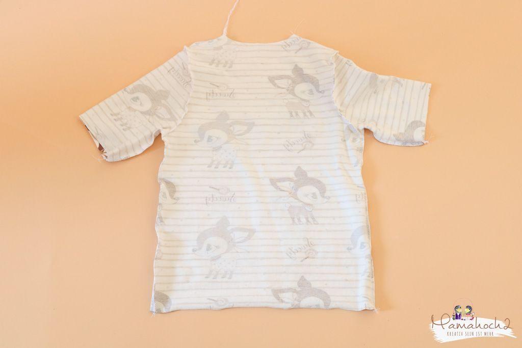 T-Shirt nähen – Wie du dir ein T-Shirt aus einem vorhandenen Schnittmuster nähst (4)