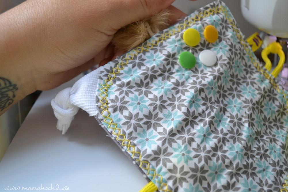 Babyset #10 Knistertuch selber nähen ⋆ Mamahoch2