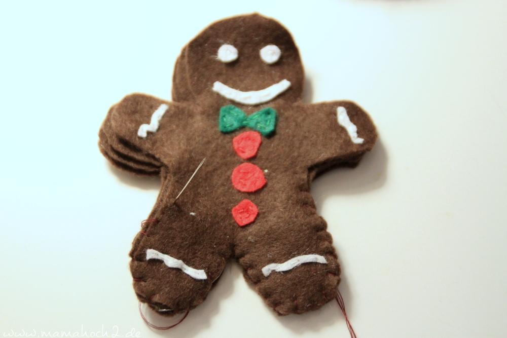 Weihnachtszeit in der Kinderküche- Plätzchen und Lebkuchen aus Filz ...
