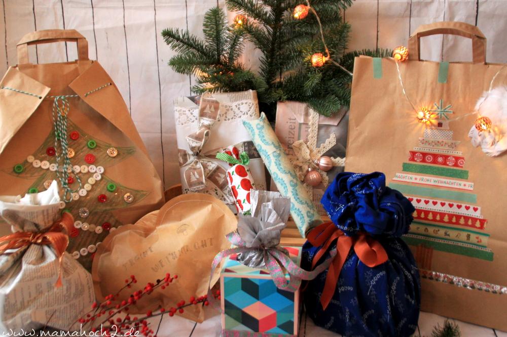 Verpacken Ohne Geschenkpapier So Schön Kann Recycling Sein Mamahoch2