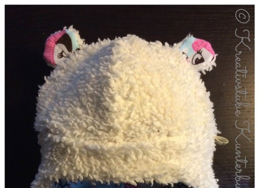Teddyohren Wintermütze