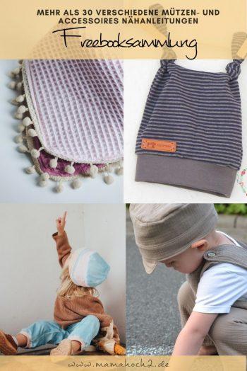 kostenlose schnittmuster mütze und halstuch